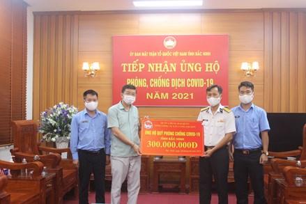 Mặt trận Bắc Ninh: Hỗ trợ hơn 17 tỷ đồng cho lực lượng tình nguyện viên tham gia Tổ phòng, chống dịch COVID-19 ở cộng đồng