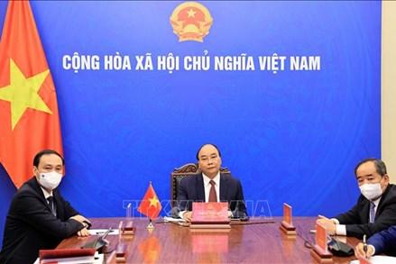 Chủ tịch nước làm việc trực tuyến với Chủ tịch Hội Hữu nghị Hàn Quốc - Việt Nam