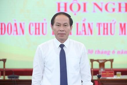 Tóm tắt lý lịch của ông Lê Tiến Châu, Tân Phó Chủ tịch - Tổng Thư ký UBTƯ MTTQ Việt Nam
