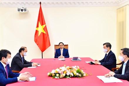 Việt Nam – Cuba thảo luận khả năng hợp tác cung ứng và sản xuất vaccine COVID-19