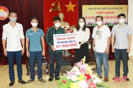 Hà Tĩnh tiếp nhận 82 tỷ đồng ủng hộ công tác phòng, chống dịch COVID-19