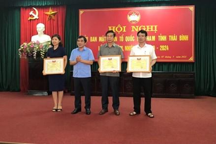 Thái Bình tổ chức Hội nghị Ủy ban MTTQ Việt Nam tỉnh lần thứ V