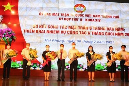 Kỳ họp thứ 5, khóa XIV Ủy ban MTTQ Việt Nam thành phố Hải Phòng
