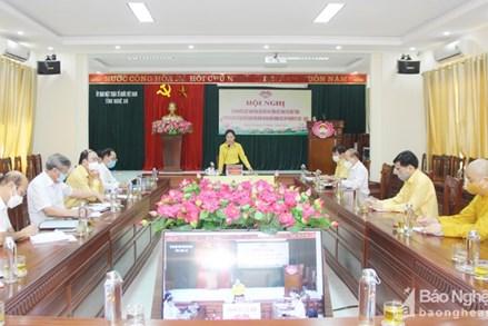 """MTTQ tỉnh Nghệ An tiếp tục thực hiện hiệu quả nhiệm vụ """"2C"""" và """"Mặt trận số"""""""