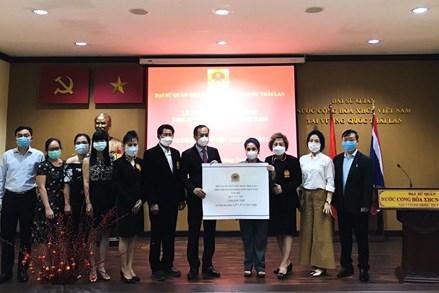 Cộng đồng người Việt Nam tại Thái Lan ủng hộ hơn 1 tỷ đồng cho Quỹ vaccine phòng Covid-19