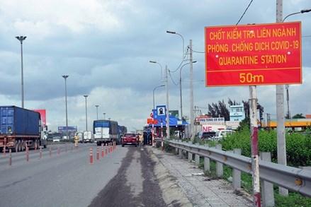 Tổ chức 22 chốt kiểm soát người của các tỉnh, thành phố khác vào Hà Nội từ 6h00 ngày 14/7