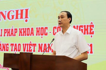 76 công trình, giải pháp khoa học - công nghệ công bố trong Sách vàng Sáng tạo Việt Nam năm 2021