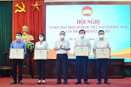 Hội nghị Ủy ban MTTQ Việt Nam tỉnh Bắc Ninh lần thứ 5, khóa XIII, nhiệm kỳ 2019-2024