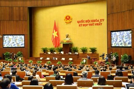 Khai mạc kỳ họp thứ nhất, Quốc hội khóa XV: Không ngừng phát huy vai trò, vị trí là cơ quan đại biểu cao nhất của nhân dân
