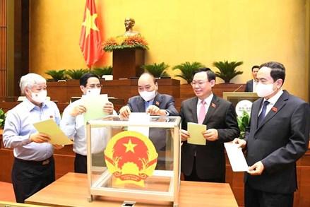 Thông cáo báo chí số 02 Kỳ họp thứ nhất, Quốc hội khóa XV