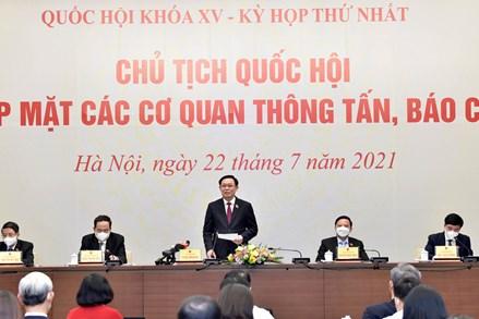 Chủ tịch Quốc hội Vương Đình Huệ: Phát huy vai trò dẫn dắt, kiến tạo phát triển