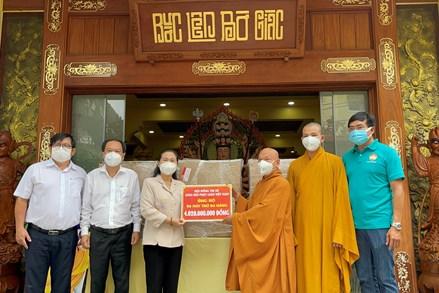 Trung ương Giáo hội PGVN trao tặng máy thở đa năng hỗ trợ TP. Hồ Chí Minh, Bình Dương và Long An điều trị Covid-19