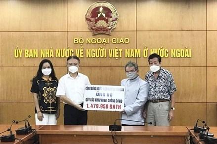 Người Việt tại Thái Lan hỗ trợ các địa phương phòng chống dịch Covid-19 ở quê nhà