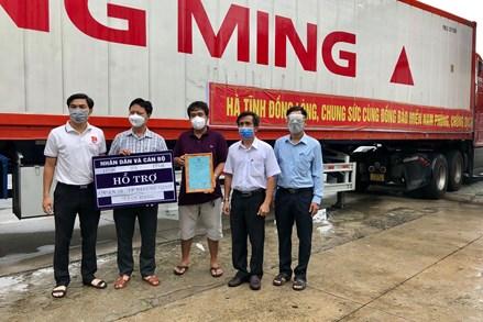 Ân tình từ những chuyến hàng hỗ trợ thành phố Hồ Chí Minh vượt qua đại dịch
