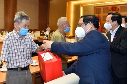 Thủ tướng  Phạm Minh Chính gặp mặt người có công tiêu biểu nhân dịp 74 năm Ngày Thương binh - Liệt sĩ