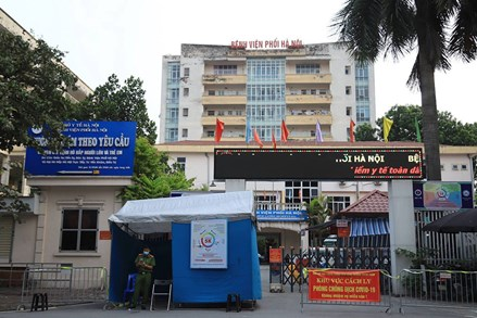 Cách ly y tế Bệnh viện Phổi Hà Nội sau khi phát hiện các ca dương tính với Covid-19