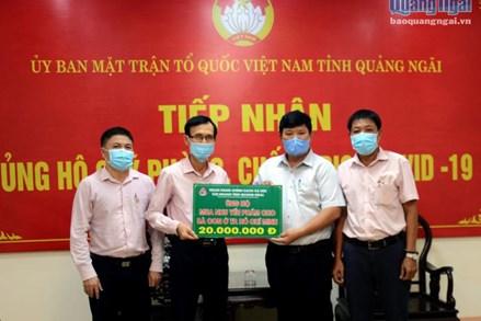 Quảng Ngãi hỗ trợ hơn 60 tấn nhu yếu phẩm cho người dân TP Hồ Chí Minh