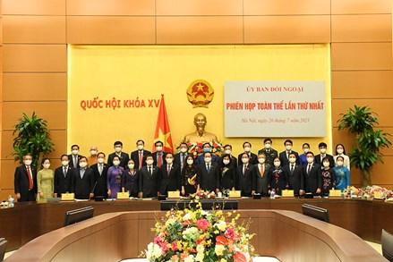 Khẳng định vai trò của Ủy ban Đối ngoại trong các hoạt động của Quốc hội