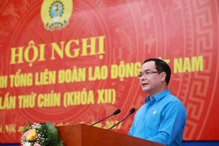 Thư chúc mừng 92 năm Ngày thành lập Công đoàn Việt Nam