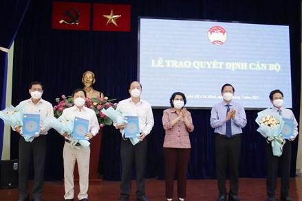 MTTQ Việt Nam thành phố Hồ Chí Minh triển khai Quyết định về công tác cán bộ