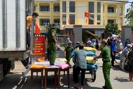 Quảng Nam vận động 428 tấn lương thực, thực phẩm hỗ trợ thành phố Hồ Chí Minh