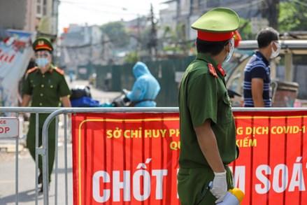 Hà Nội tiếp tục thực hiện giãn cách xã hội đến 6h ngày 23-8