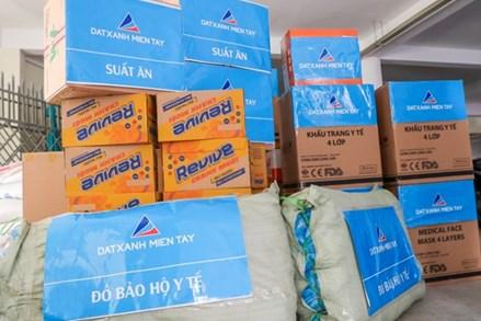 Cần Thơ: Mặt trận tiếp nhận 500 bộ đồ bảo hộ, trên 12.500 khẩu trang y tế