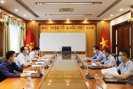 Thúc đẩy quan hệ hợp tác giữa Mặt trận hai nước Việt Nam - Campuchia