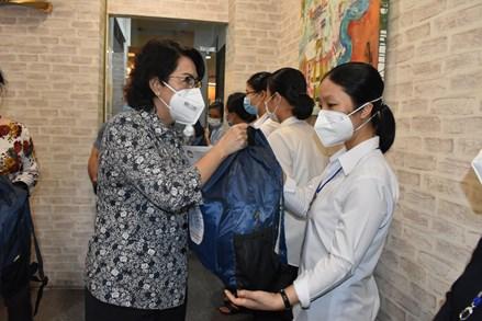TPHCM: 62 tình nguyện viên tôn giáo tham gia hỗ trợ tại các bệnh viện dã chiến, bệnh viện điều trị Covid-19