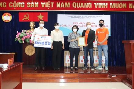 Thêm nhiều doanh nghiệp ủng hộ thiết bị y tế cùng thành phố Hồ Chí Minh đẩy lùi dịch bệnh