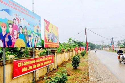 Hà Nội: Quyết liệt hoàn thành mục tiêu xây dựng nông thôn mới