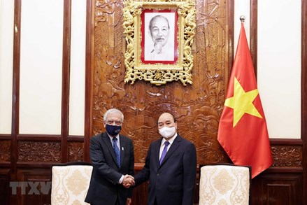 Chủ tịch nước Nguyễn Xuân Phúc đánh giá cao nhiệm kỳ của Điều phối viên Liên hợp quốc tại Việt Nam