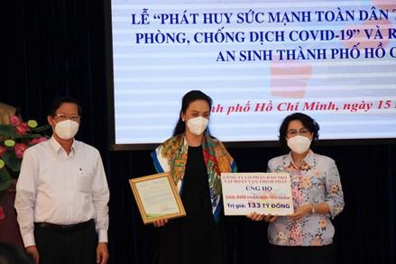 Thành phố Hồ Chí Minh: Ra mắt Trung tâm tiếp nhận, hỗ trợ hàng hóa thiết yếu phục vụ người dân khó khăn bởi dịch bệnh Covid-19