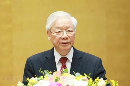 Tổng Bí thư gửi lời thăm hỏi, động viên Đảng bộ, chính quyền và nhân dân TP Hồ Chí Minh