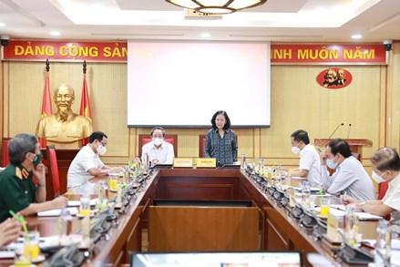 Phiên họp thứ nhất Ban Chỉ đạo xây dựng Đề án trình Hội nghị Trung ương 5, khoá XIII