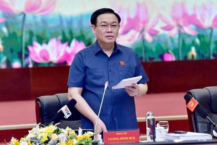 Chủ tịch Quốc hội Vương Đình Huệ: Phải có tầm nhìn dài hạn trong sửa đổi Luật Đất đai