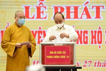 Các tôn giáo chung tay cùng Đảng, Nhà nước, MTTQ Việt Nam trong phòng, chống và đẩy lùi đại dịch