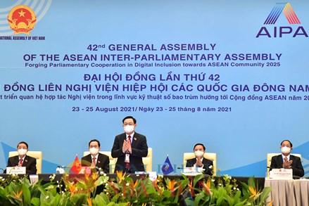 Khai mạc trọng thể Đại hội đồng AIPA– 42