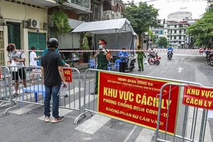 Tình hình COVID-19 ngày 24/8: Việt Nam có 10.811 ca nhiễm mới SARS-CoV-2, Hà Nội ghi nhận 67 ca dương tính