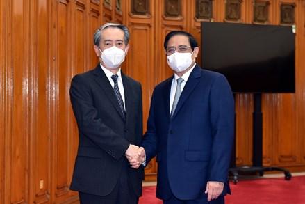 Thủ tướng Phạm Minh Chính tiếp Đại sứ Trung Quốc tại Việt Nam
