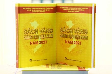 Thông tin báo chí giới thiệu 76 công trình, giải pháp đăng trong Sách vàng Sáng tạo Việt Nam năm 2021