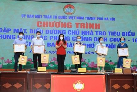 Hà Nội: Tuyên dương 15 chủ nhà trọ tiêu biểu trong công tác phòng, chống dịch