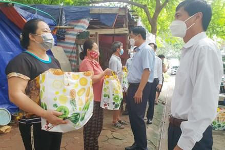Hà Nội: Quận Hà Đông với phong trào 'Vì công nhân mắc kẹt' do giãn cách xã hội
