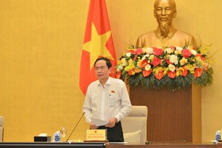 Phó Chủ tịch Thường trực Quốc hội Trần Thanh Mẫn chủ trì xây dựng đề án nâng cao chất lượng, hiệu quả kỳ họp Quốc hội