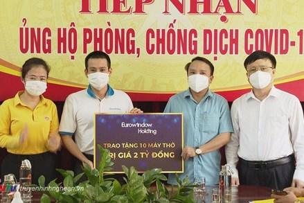 Nghệ An: Tiếp nhận trên 145 tỷ đồng ủng hộ phòng, chống dịch Covid - 19