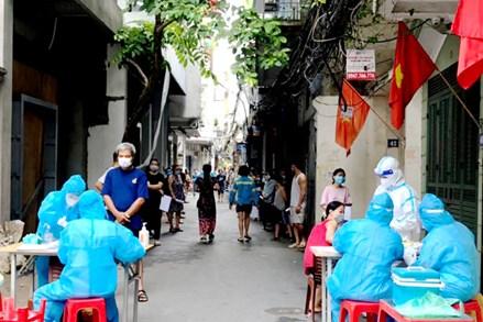 Hà Nội: Tăng tốc kiểm soát dịch Covid-19, xét nghiệm toàn bộ 100% người dân từ ngày 6/9 đến ngày 12/9