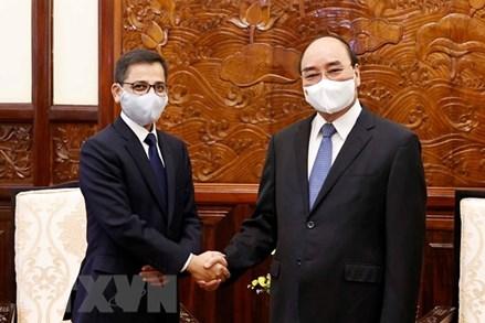 Chủ tịch nước đề nghị Ấn Độ đẩy nhanh hỗ trợ vaccine cho Việt Nam