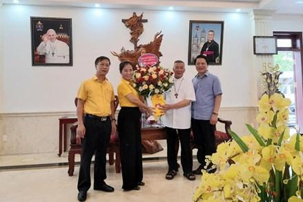 Đồng bào công giáo Nghệ An đồng hành cùng Mặt trận trong công tác phòng, chống dịch