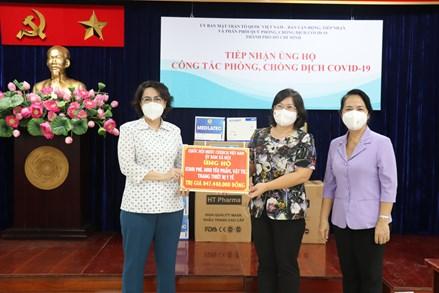 Thêm nhiều trang thiết bị y tế hỗ trợ thành phố Hồ Chí Minh đẩy lùi dịch bệnh