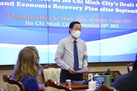 TPHCM phục hồi và phát triển kinh tế dựa trên nguyên tắc an toàn, linh hoạt theo kết quả phòng chống dịch